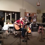 Douglas J. Broadbent performs at the February Coffee House