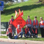 Eight of ten volunteers on October 20, 2013